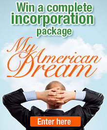 Incorporate for FREE - My American Dream Contest